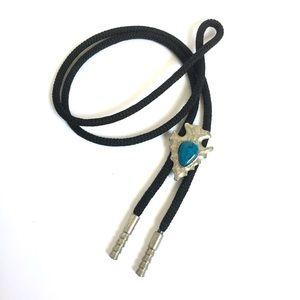 Vintage Necklace Lariat Southwestern Turquoise